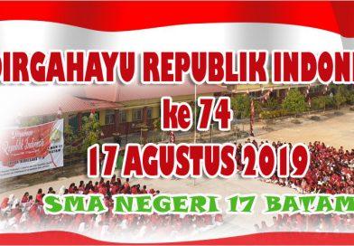 DIRGAHAYU REPUBLIK INDONESIA KE 74
