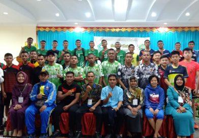 Pertandingan Bola Takraw Antar SMA dan SMK Sekota Batam di STIKes Mitra Bunda Persada Tahun 2019